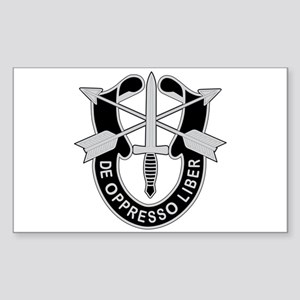 Special Forces Sticker (Rectangle)