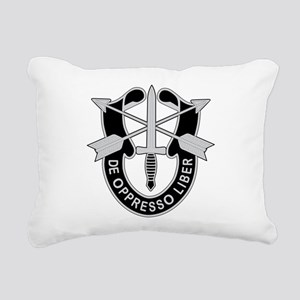 Special Forces Rectangular Canvas Pillow