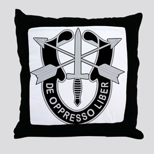 Special Forces Throw Pillow