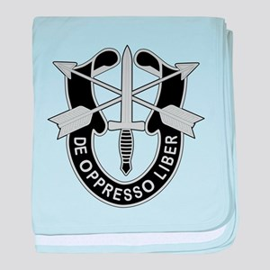 Special Forces baby blanket