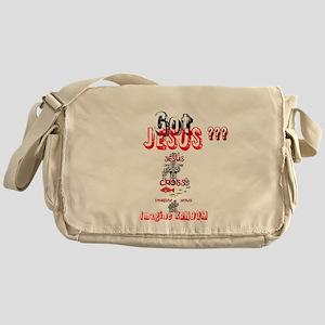 Jesusoff The Cross-Messenger Bag