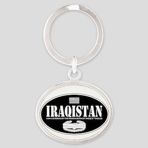 Iraqistan CAB Oval Keychain