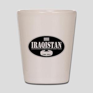 Iraqistan CAB Shot Glass