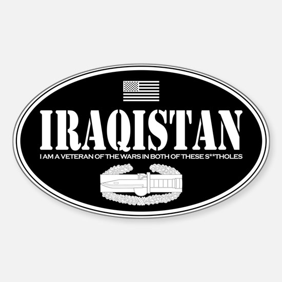 Iraqistan CAB Sticker (Oval)