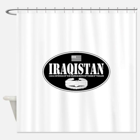 Iraqistan CAB Shower Curtain