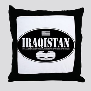 Iraqistan CAB Throw Pillow