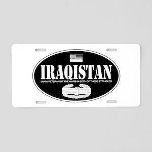 Iraqistan CAB Aluminum License Plate