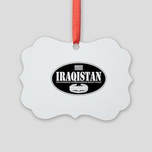 Iraqistan CAB Picture Ornament