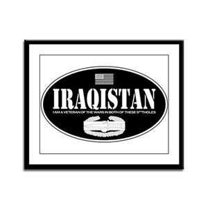 Iraqistan CAB Framed Panel Print
