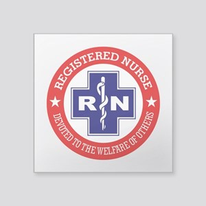 Registered Nurse (red-blue) Sticker