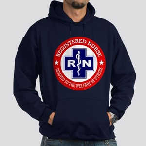 Registered Nurse (red-blue) Hoodie