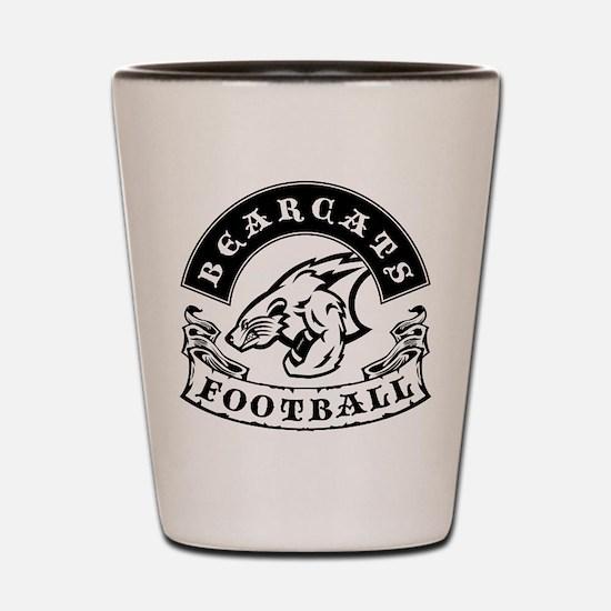 Bearcats Football Shot Glass