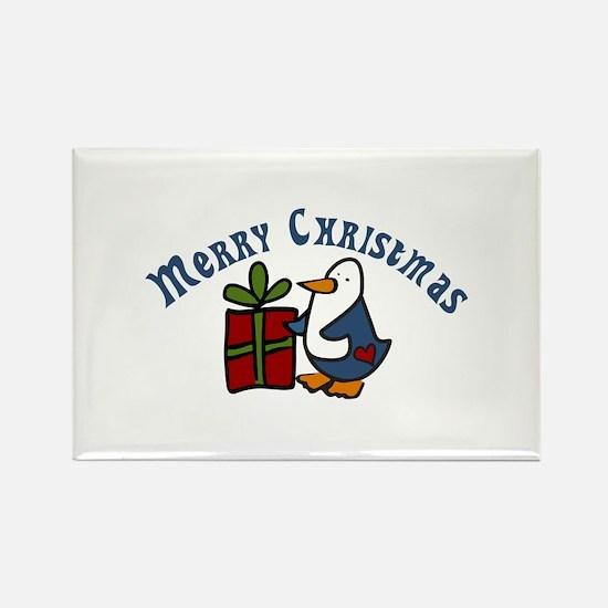 Christmas Penguin Magnets