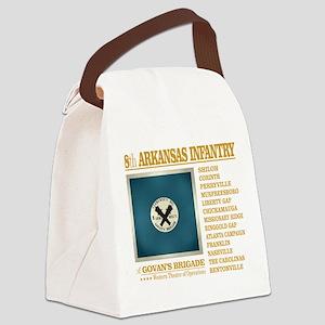 8th Arkansas Infantry (BH2) Canvas Lunch Bag