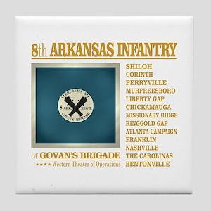 8th Arkansas Infantry (BH2) Tile Coaster
