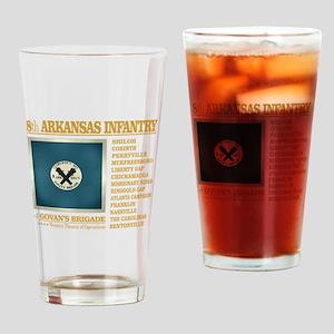 8th Arkansas Infantry (BH2) Drinking Glass