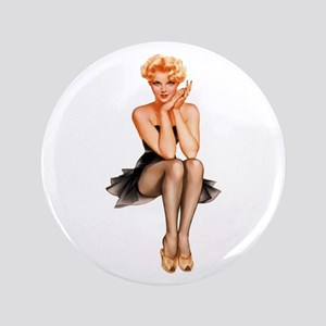"""Sexy Pin Up 3.5"""" Button"""