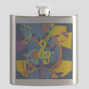 Bright Abstract music design Flask