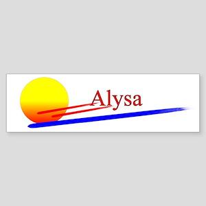 Alysa Bumper Sticker