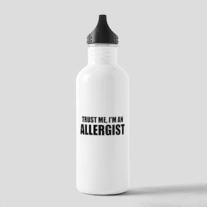 Trust Me, Im An Allergist Water Bottle
