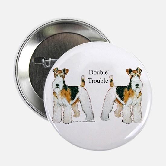 Double Trouble Wire Fox Terri Button