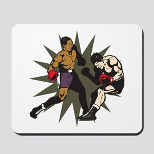 Boxing Knockout Fight Mousepad