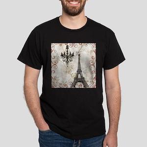 chandelier modern paris eiffel tower art T-Shirt