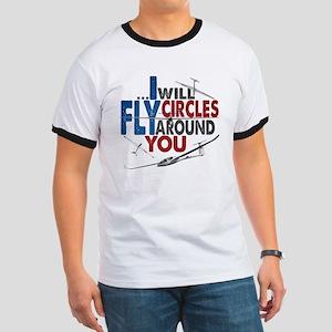 Glider Pilot Boasting Ringer T