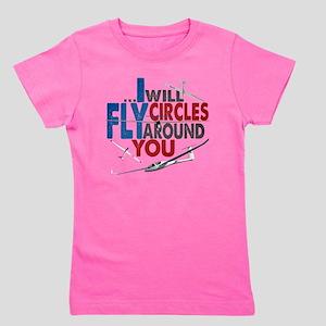 Glider Pilot Boasting Girl's Tee