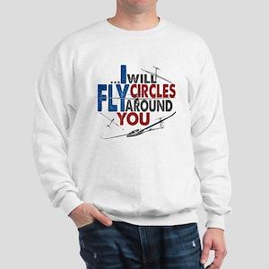 Glider Pilot Boasting Sweatshirt