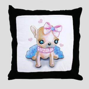 Chi Chi Throw Pillow