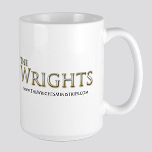 The Wrights Logo Large Mug Mugs