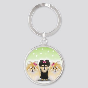 The Pom sisters Keychains