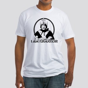 MST3K Krankor Fitted T-Shirt