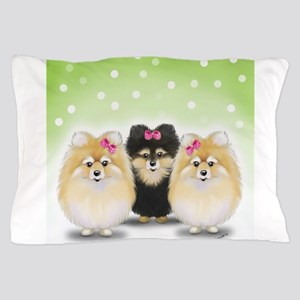 The Pom sisters Pillow Case