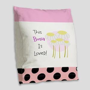 Busia 3 Burlap Throw Pillow