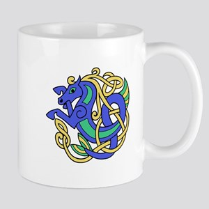 Celtic Hippocampus 2 Mug