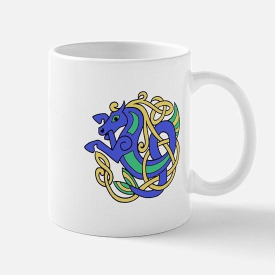 Celtic Hippocampus 2 Mug