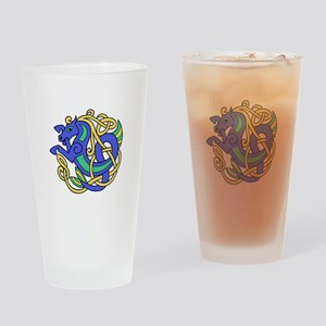 Celtic Hippocampus 2 Drinking Glass