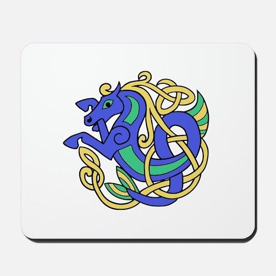 Celtic Hippocampus 2 Mousepad