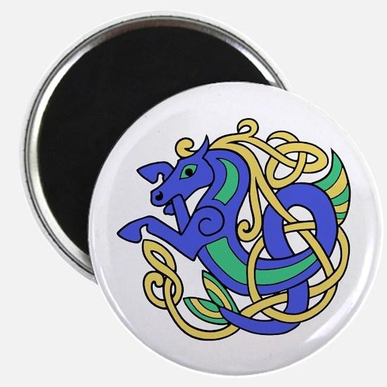 Celtic Hippocampus 2 Magnet