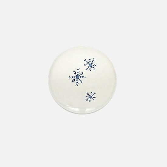 Snowflakes Mini Button (10 pack)