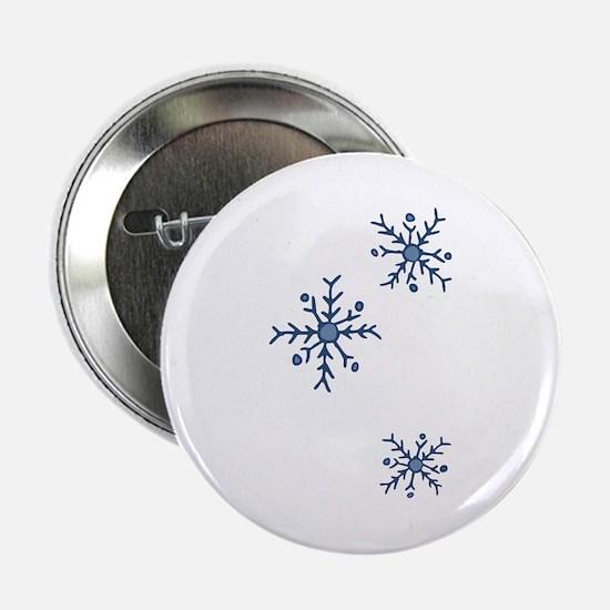 """Snowflakes 2.25"""" Button"""
