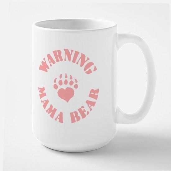Warning - Mama Bear Large Mug
