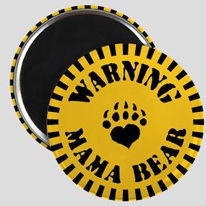 Warning - Mama Bear Magnet