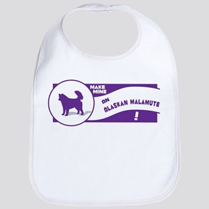 Make Mine Malamute Bib