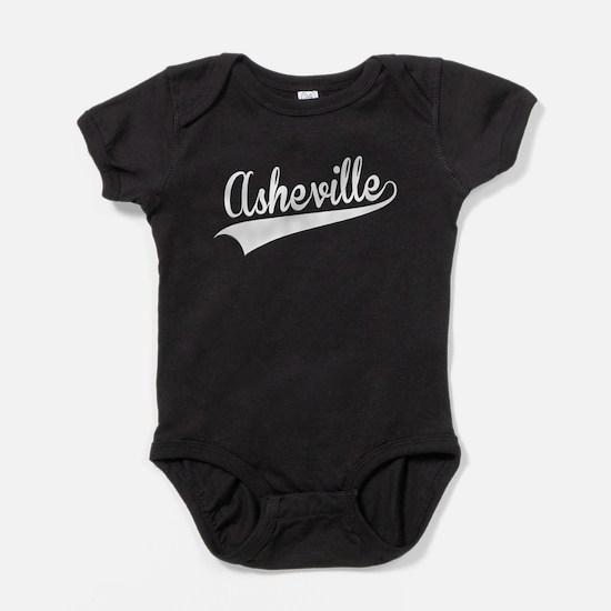 Asheville, Retro, Baby Bodysuit