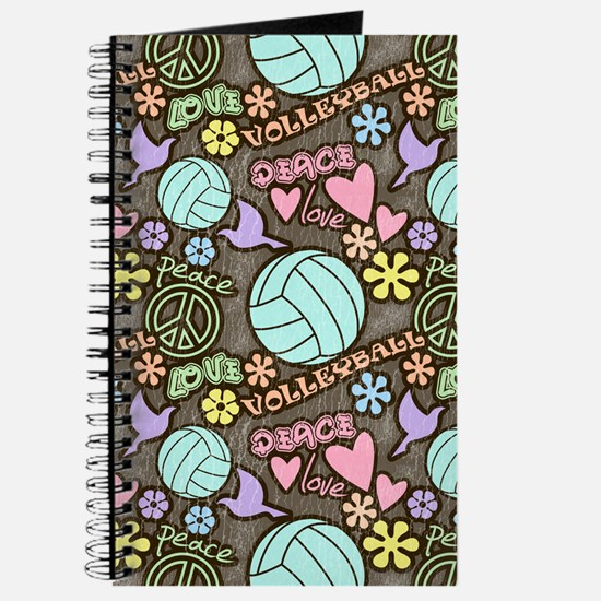 Peace, Love, Volleyball Journal