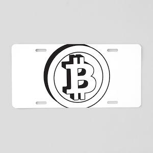 bitcoin2 Aluminum License Plate