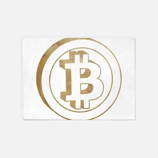 bitcoin3 5'x7'Area Rug